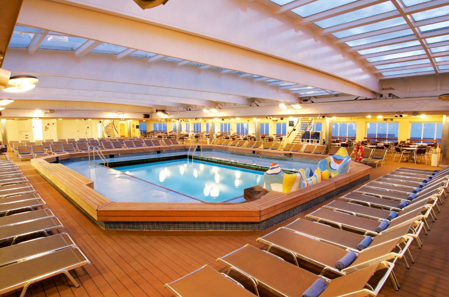 Thomson Dream Cruises - indoor pool image view