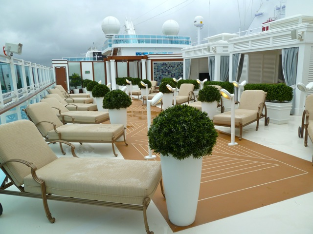 Royal Princess Sanctuary and Retreat area