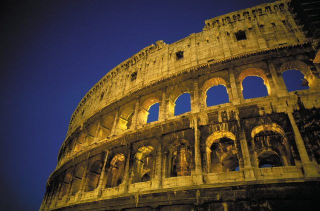 Marvel at the Colosseum in Rome