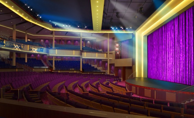 Theatre Venue on Royal Caribbean