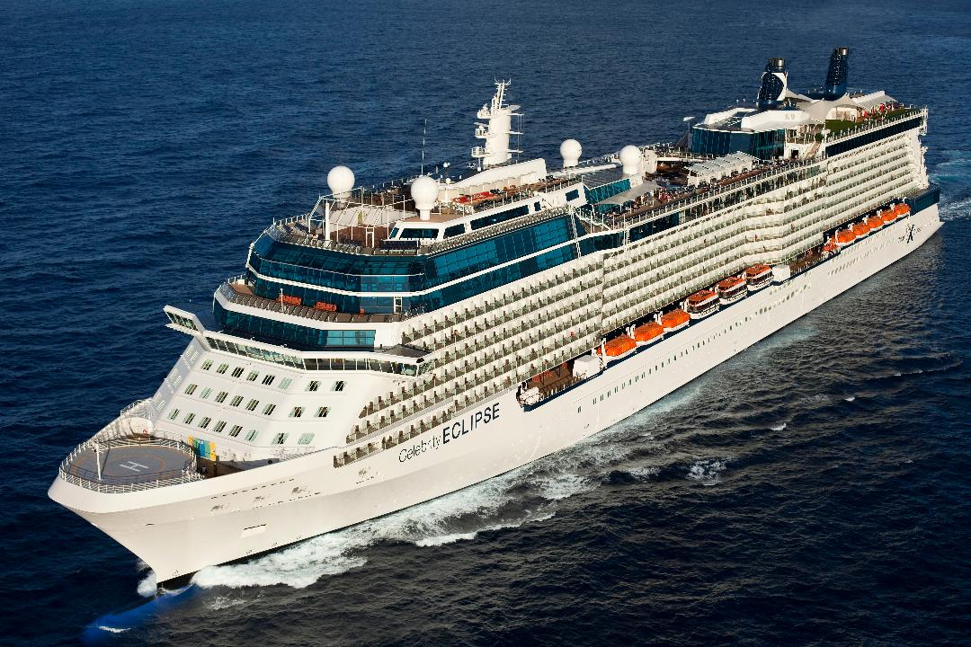 Celebrity Eclipse at sea