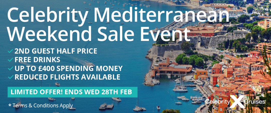 The Modern Luxury Cruise Sale with Celebrity Cruises | TV ...