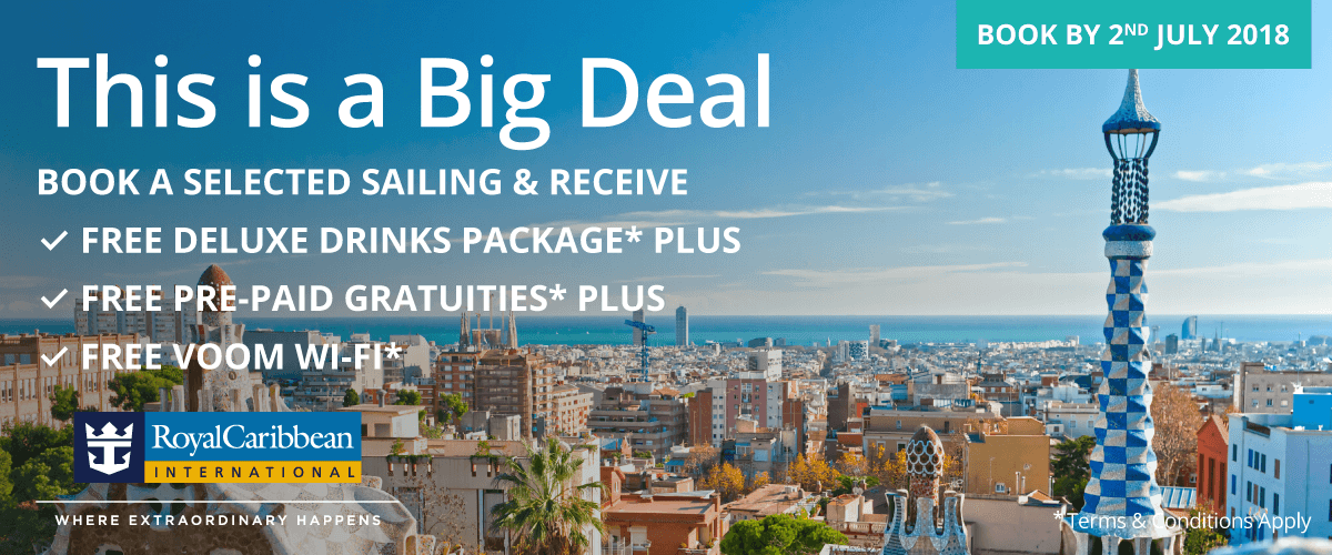 Royal Caribbean® Promotion – This Is A Big Deal!