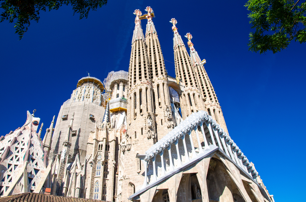 The Sagrada Familia by Antonio Gaudi, Barcelona