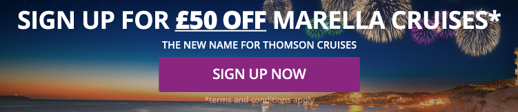 Sign Up for £50 off Marella Cruises