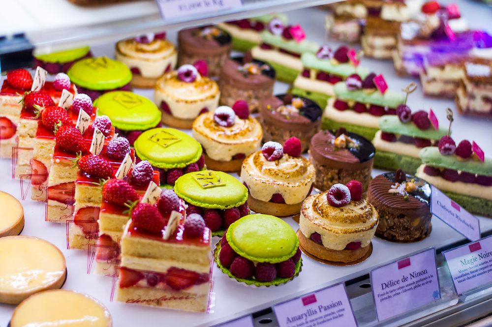 Image of a selection of tasty cakes similar to the offering available at Sugar