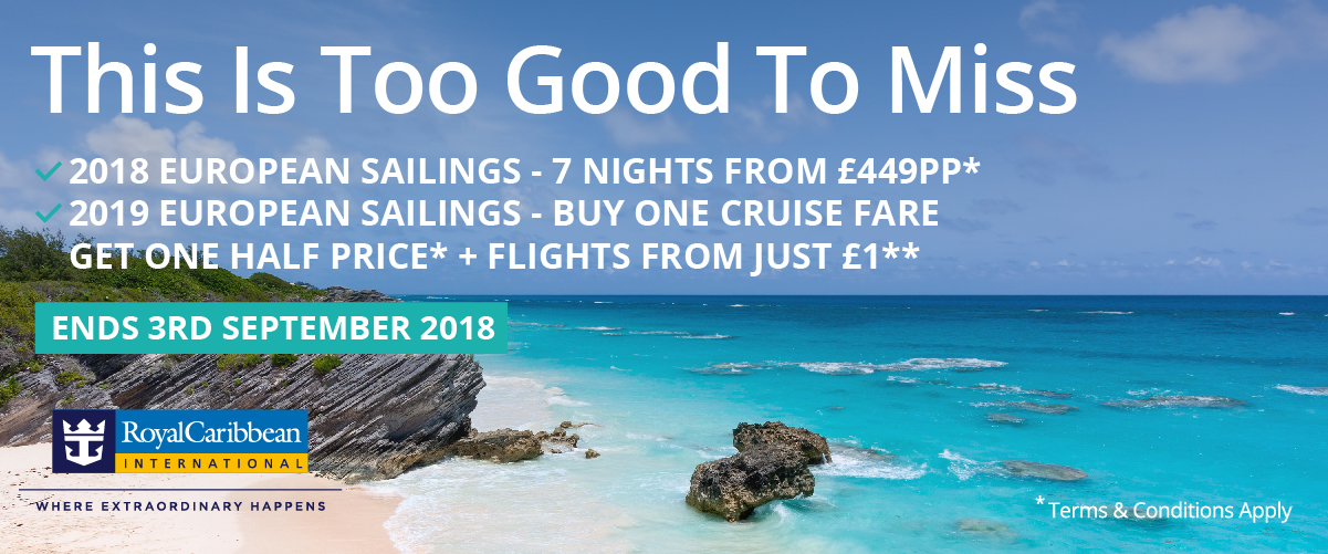 Royal Caribbean® Promotion – This Is Too Good To Miss