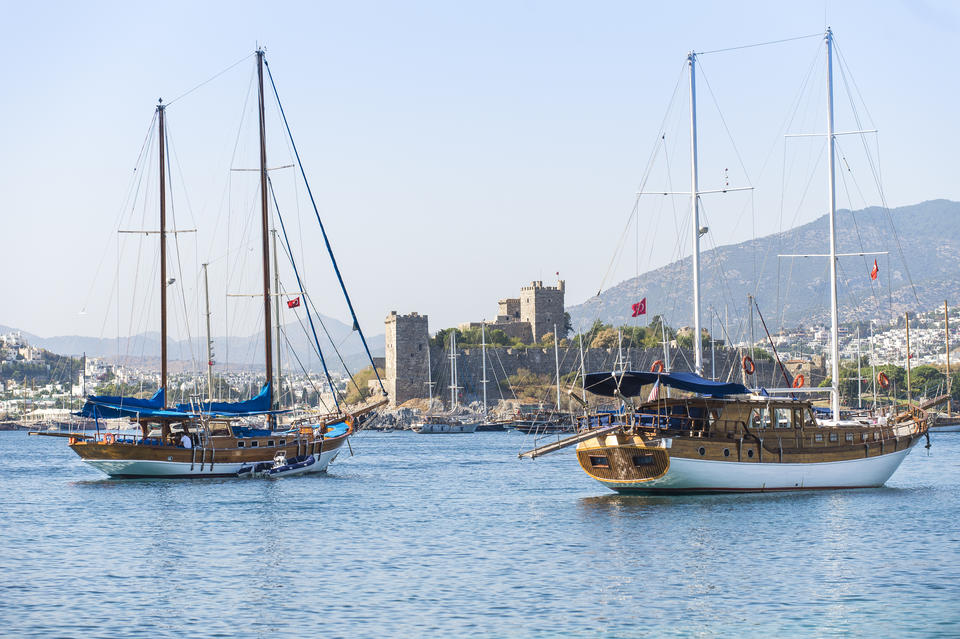 Gulet Boats at Bodrum