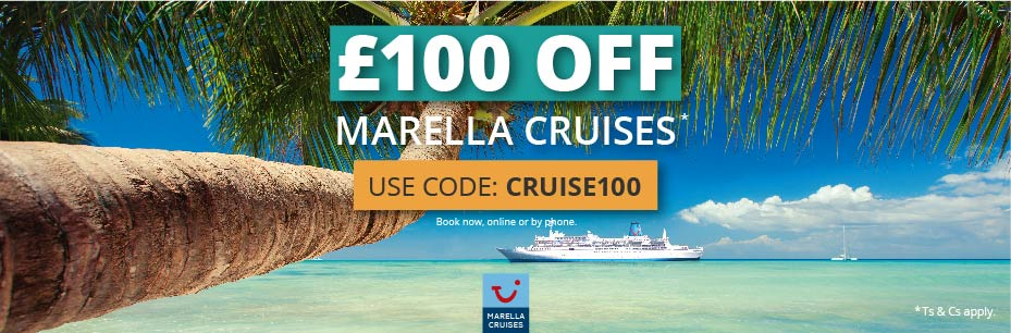 £100 off Marella Cruises