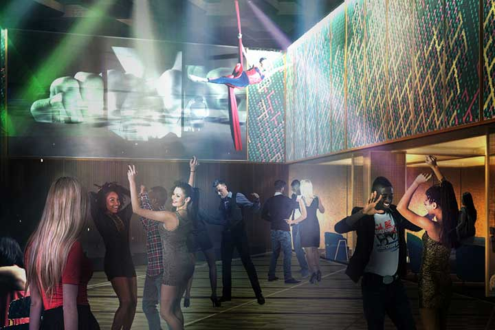 Celebrity Cruises Edge does clubs like no other