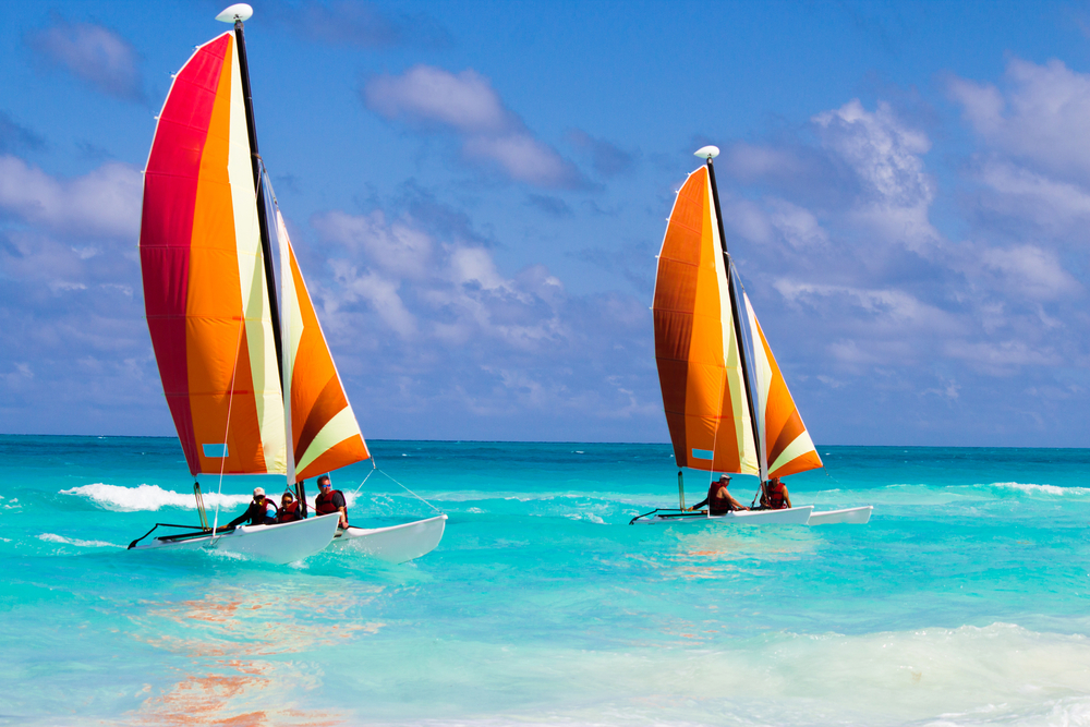Catamarans in the Caribbean