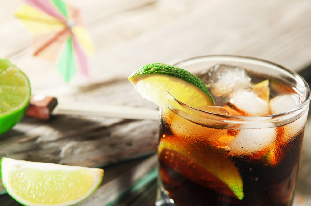 Caribbean Rum and Coke