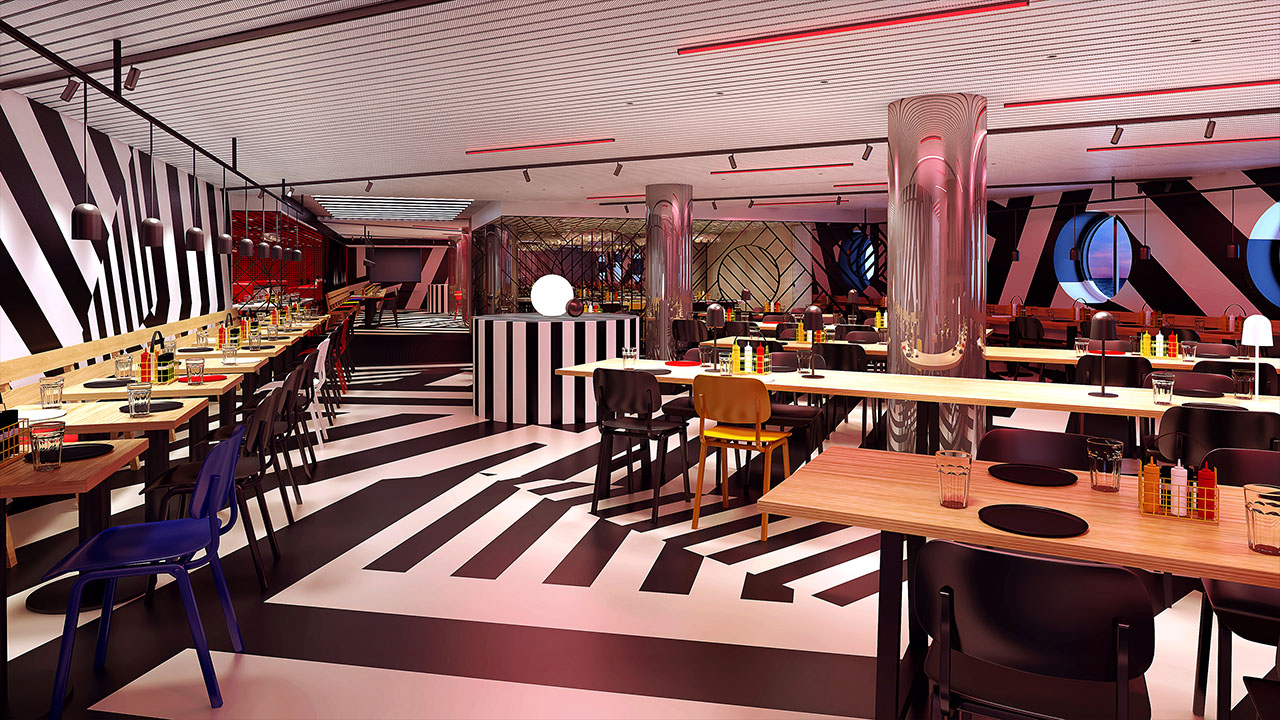Razzle Dazzle Restaurant - Virgin Voyages