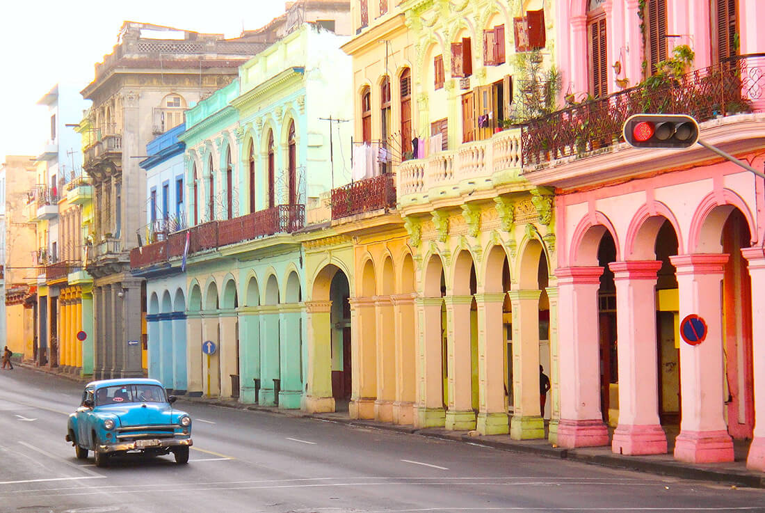 Old car in Havana, Cuba