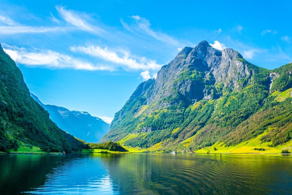 An image of the Fjords in Norway