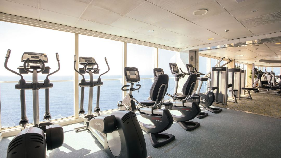 Oceans gym onboard Marella Discovery