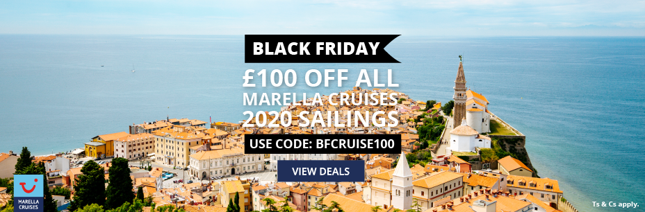 SAVE £100 Off ANY Marella Cruises 2020 sailing image