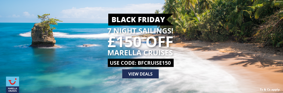 £150 OFF 7 night sailings with Marella Cruises image